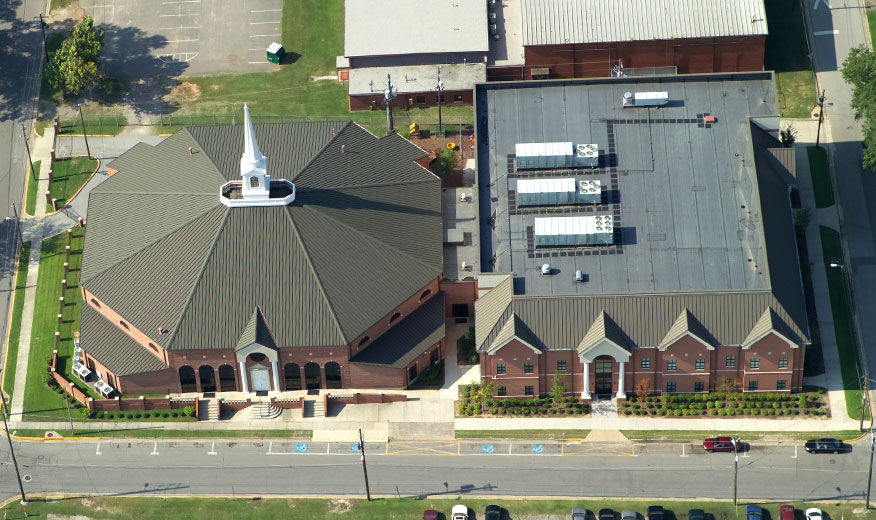 Beulah Grove Church Roofing Project | Summers Roofing Augusta GA