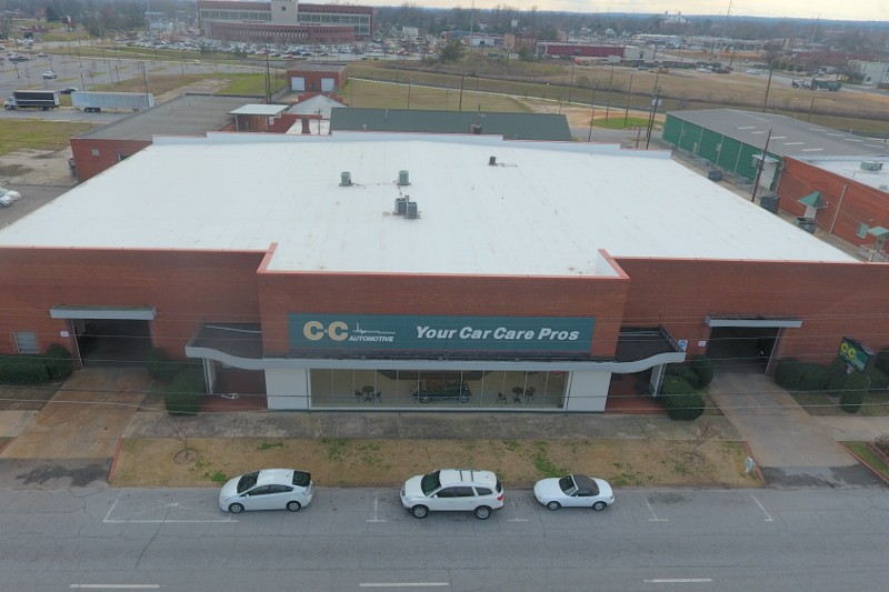 Commercial Roofing Service in Augusta GA Summers Roofing | C & C Automotive project