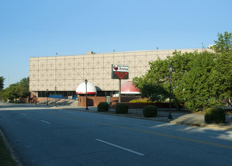 James Brown Arena Roofing Project | Summers Roofing Augusta GA