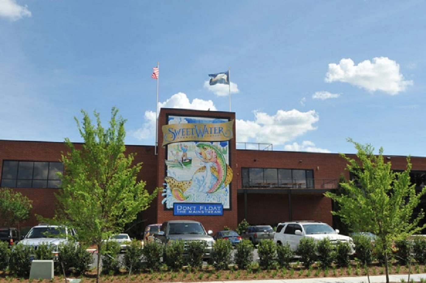 Sweetwater Brewery Roofing Project   Summers Roofing Augusta GA